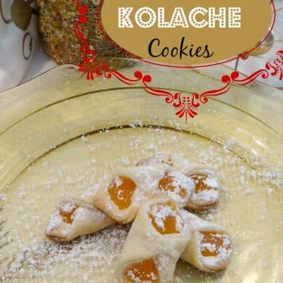 12 Days of Christmas Cookies: Apricot Kolache Recipe