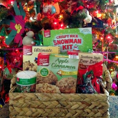 Holiday Gift Baskets with ALDI