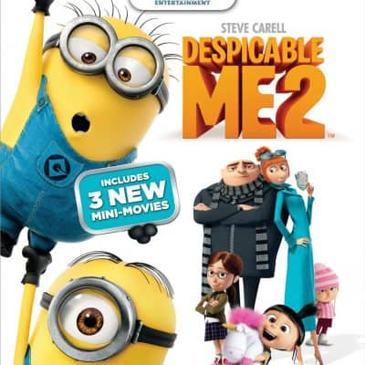 5 Reasons you MUST get Despicable Me 2 on DVD, BluRay or Combo Pack
