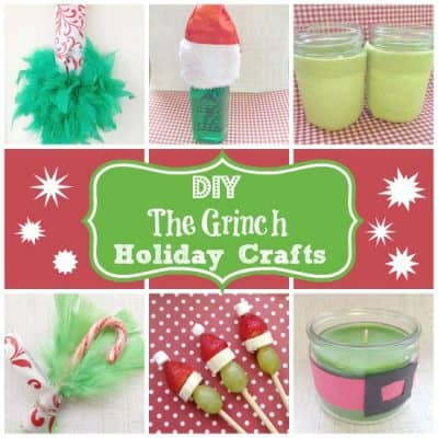 DIY Grinch Crafts and Recipes