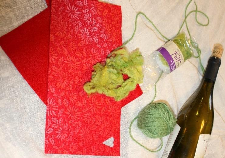grinch craft supplies
