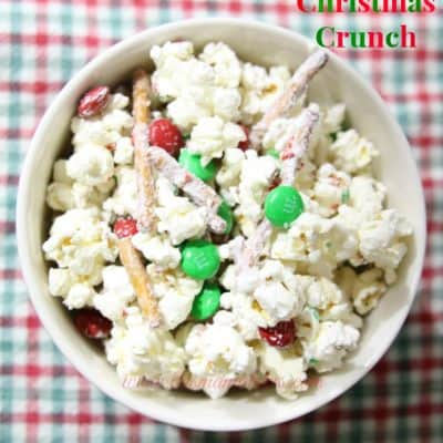 Holiday Treat Recipes: Christmas Crunch