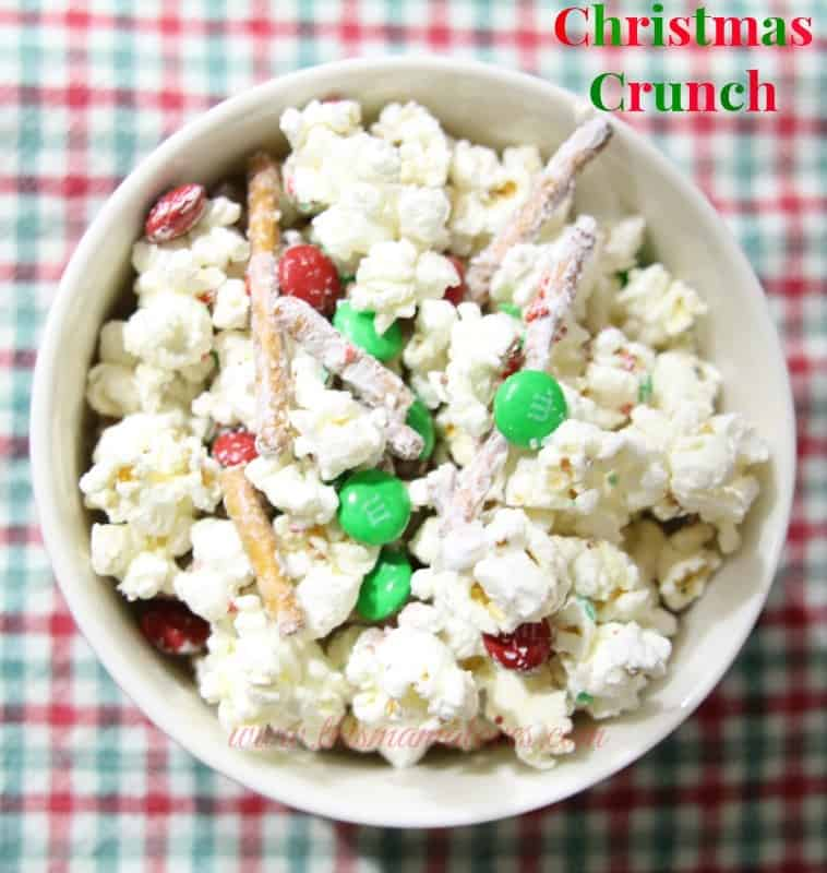 Christmas Popcorn Recipes.Holiday Treat Recipes Christmas Crunch This Mama Loves