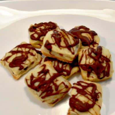 12 Days of Christmas Cookies: Snickers Bar Pillow Cookies