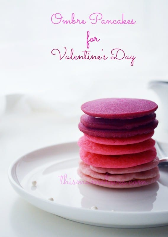 Ombre Pink Pancakes (2)