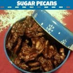 Slow Cooker Cinnamon Sugar Pecans