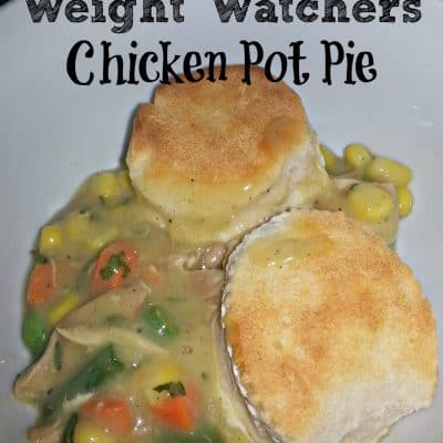 Weight Watchers Chicken Pot Pie Recipe