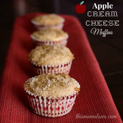 Apple Cream Cheese Muffins Recipe