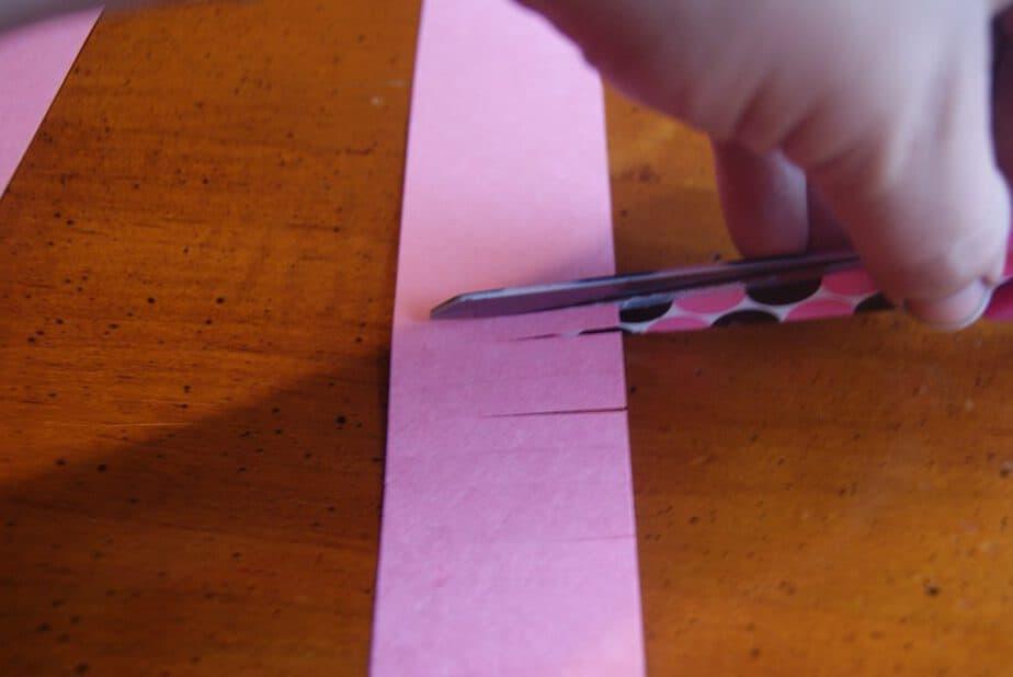 arrow valentine craft fringe
