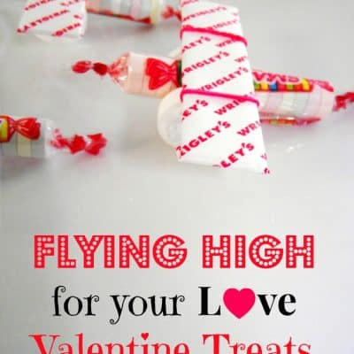 Flying High On Your Love Boys Valentine Treats