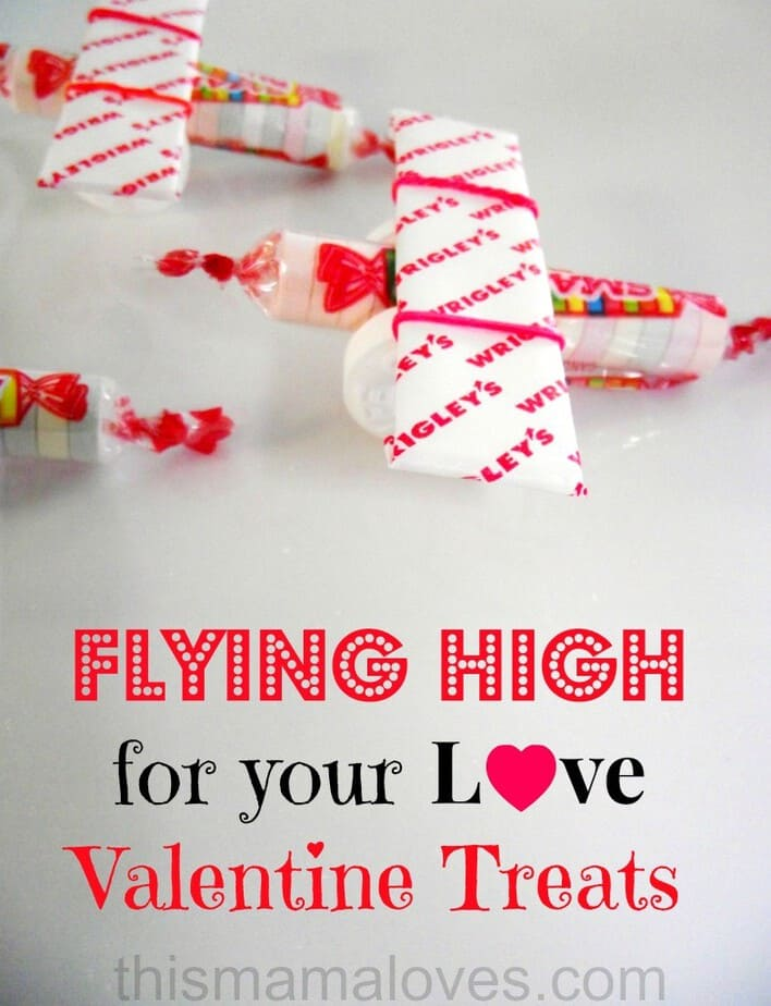 candy planes flying high for your love boy valentine treats
