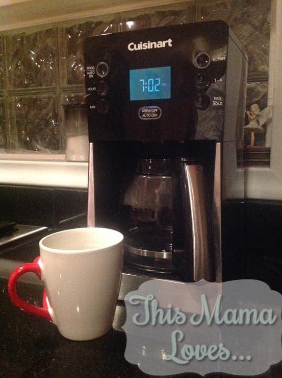 cuisinart perfec temp coffeemaker