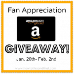 fan appreciation amazon giveaway