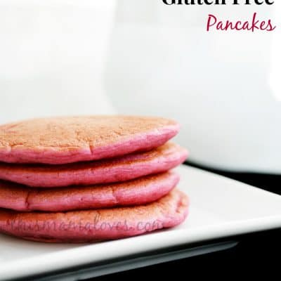Gluten Free Pancakes Recipe for Valentine's Day