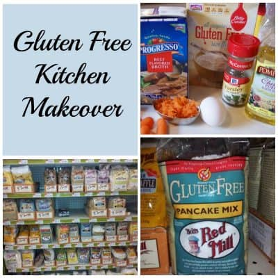 Gluten Free Kitchen Makeover #GlutenFree