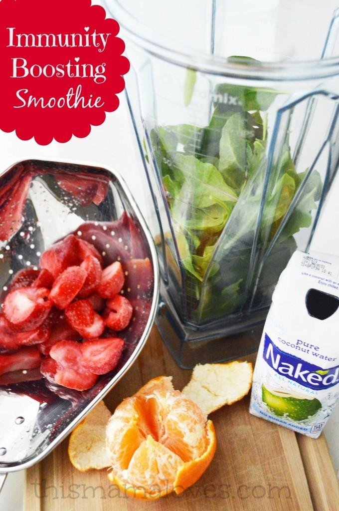 immune boost smoothie ingredients