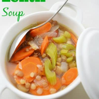 Weight Watchers Friendly Lentil Soup