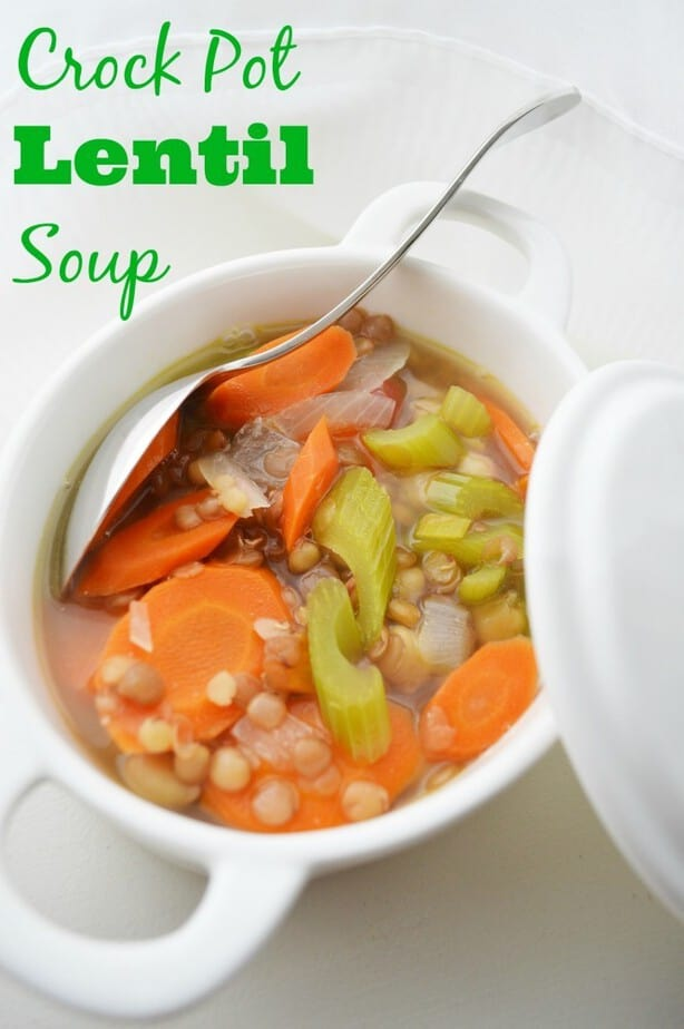 crock pot lentil soup weight watchers recipe