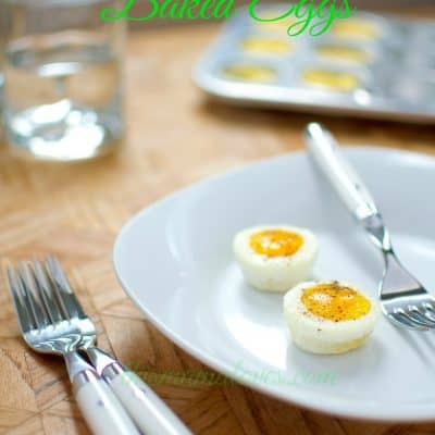 Miniature Baked Eggs Recipe