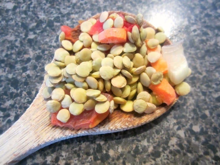 weight watchers lentil soup