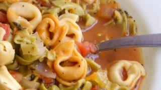 Weight Watchers Friendly Tortellini Soup