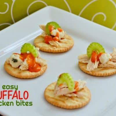 Easy Game Day Buffalo Chicken Bites Recipe