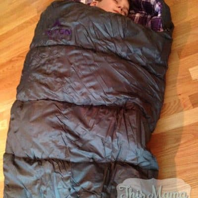 What Every Camper Needs: All-Weather Sleeping Bag #giveaway