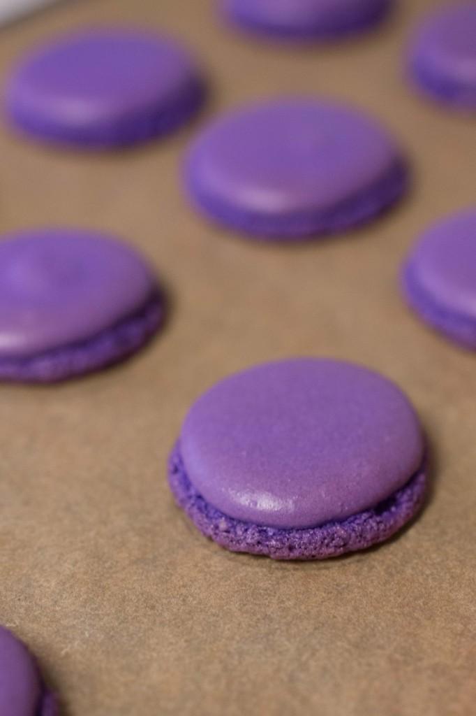 Valentine Macarons Process
