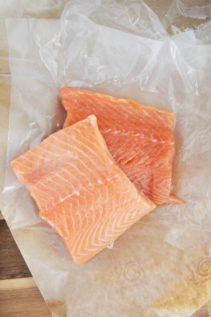 WW Honey Glazed Salmon on salad (3)