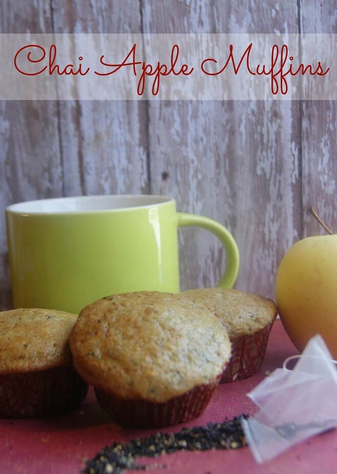 apple chai muffin recipe