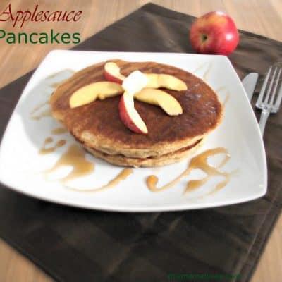 Applesauce Pancake Recipe – Celebrate Pancake Day 2014!
