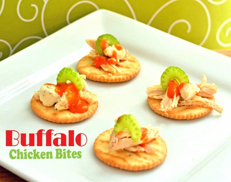 buffalo chicken bites appetizer