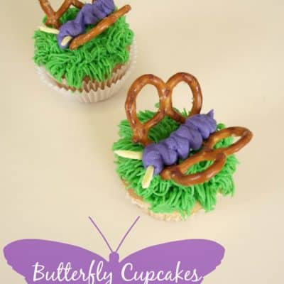 Butterfly Cupcakes Tutorial
