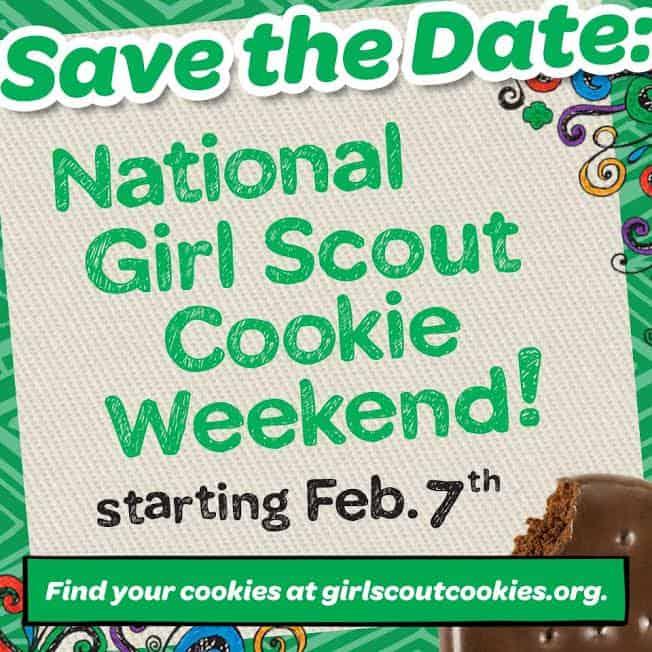 girl scout cookie weekend #cookieboss