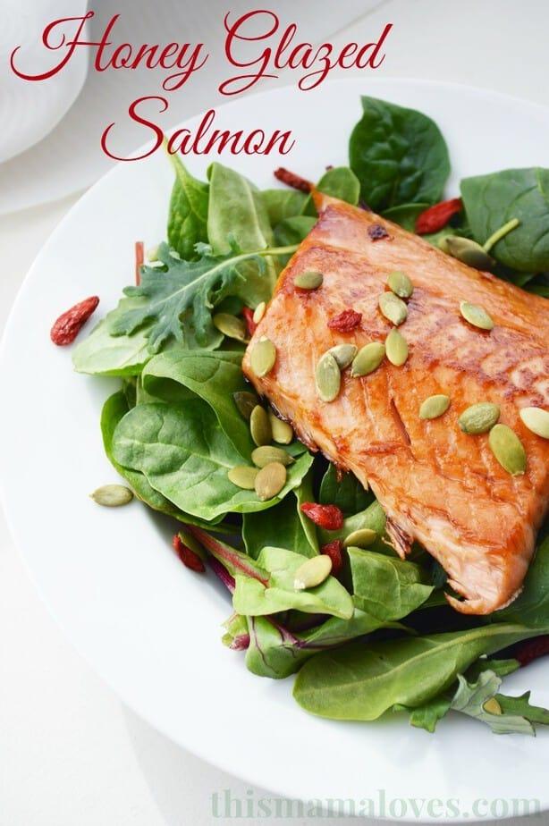 honey glazed salmon weight watchers recipe