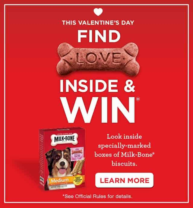 milk bone biscuits valentines day offer