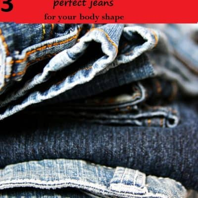 A Perfect Fit: Three Easy Steps to Buying the Perfect Jeans for Your Shape
