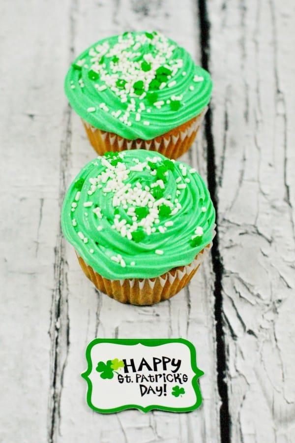 st patricks day cupcakes recipe