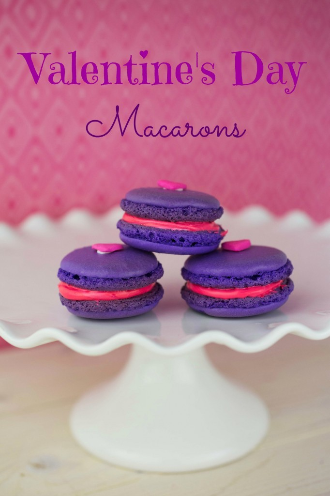 Valentine\'s Day Macarons Recipe | This Mama Loves