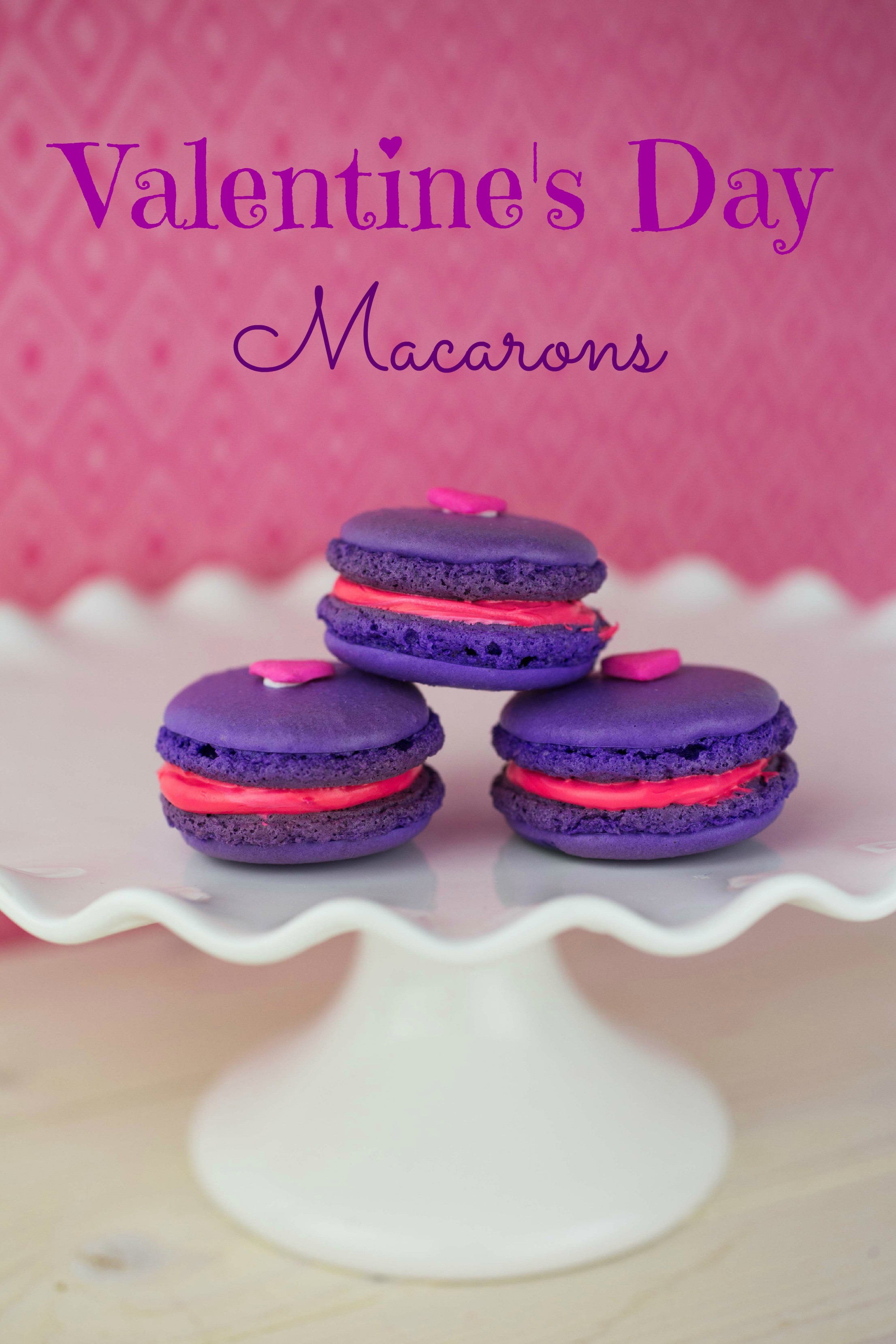 Valentines Day Macarons Recipe This Mama Loves