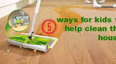 5 ways for kids to help clean the house #SwifferatTarget #CleverGirls #sp