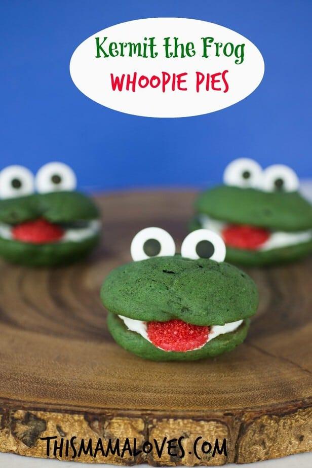 Kermit Whoopie Pies