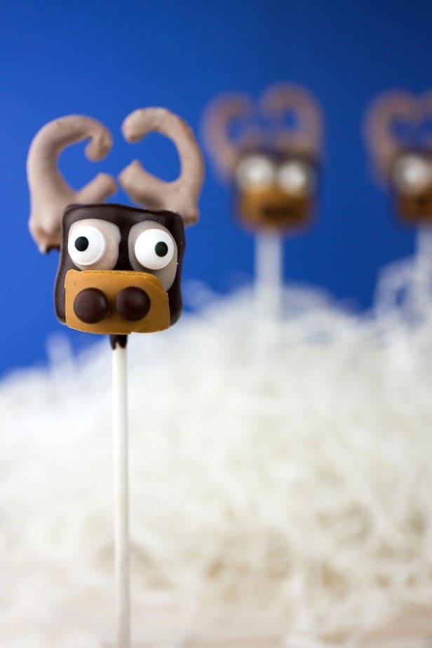 Sven Marshmallow Pops-
