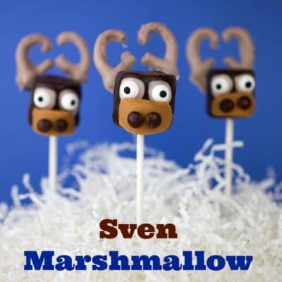 Disney's Frozen Sven Marshmallow Pops