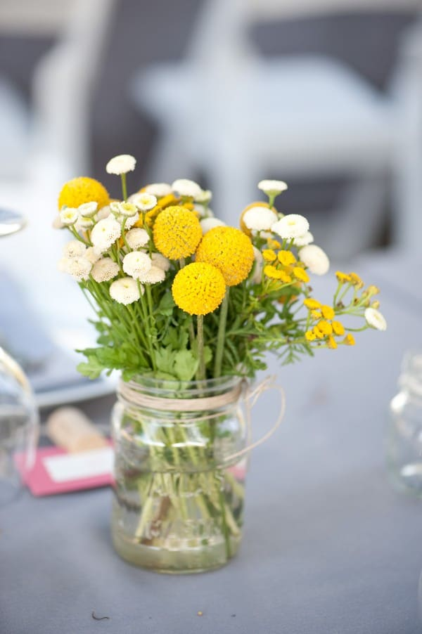 Yellow-Mason-Jar-Centerpieces
