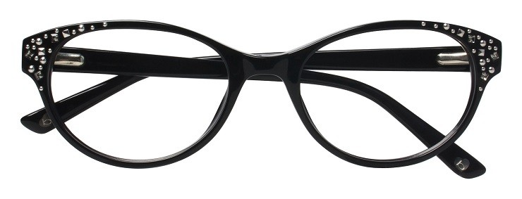 bebe funky black glassess