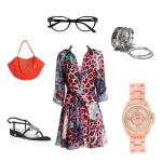 bebe style leopard outfit vsp glasses