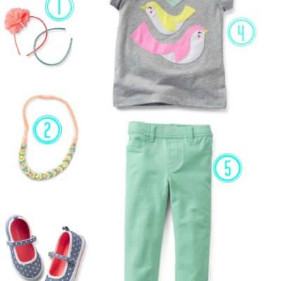 Spring Fashion for kids from Carter's