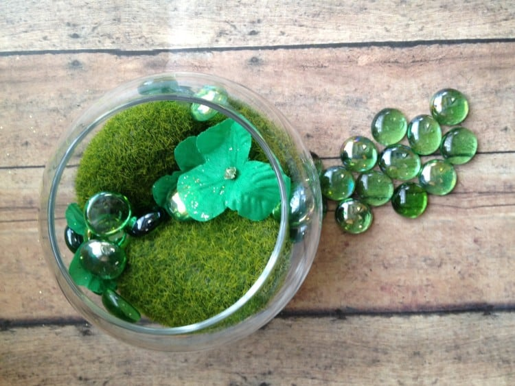dollar store diy leprechaun garden supplies