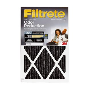 filtrete odor reducing filter